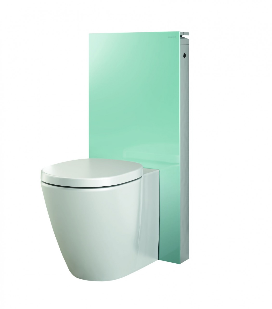 Geberit monolith 101 for floor mounted wc mint glass ap for Geberit products