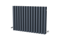 LOLA ALUMINIUM DESIGNER RADIATOR 670X830-POWDER PAINT ANTHRACITE
