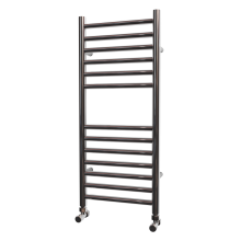 LISSIA STAINLESS STEEL HEATED TOWEL RAIL 800MM X 350MM